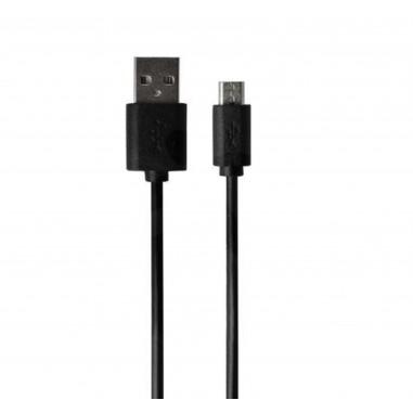 Black Micro USB cable